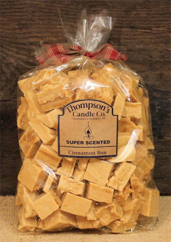 "Thompson's Candle Co Super Scented Crumbles/Tarts/Wax Melts 32 oz ""Cinnamon Bun"""
