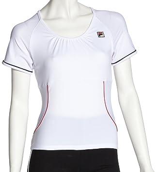 T Shirt Capsleeve Fila Blanc BlancSports Tennis Xs Et vn0NymwO8