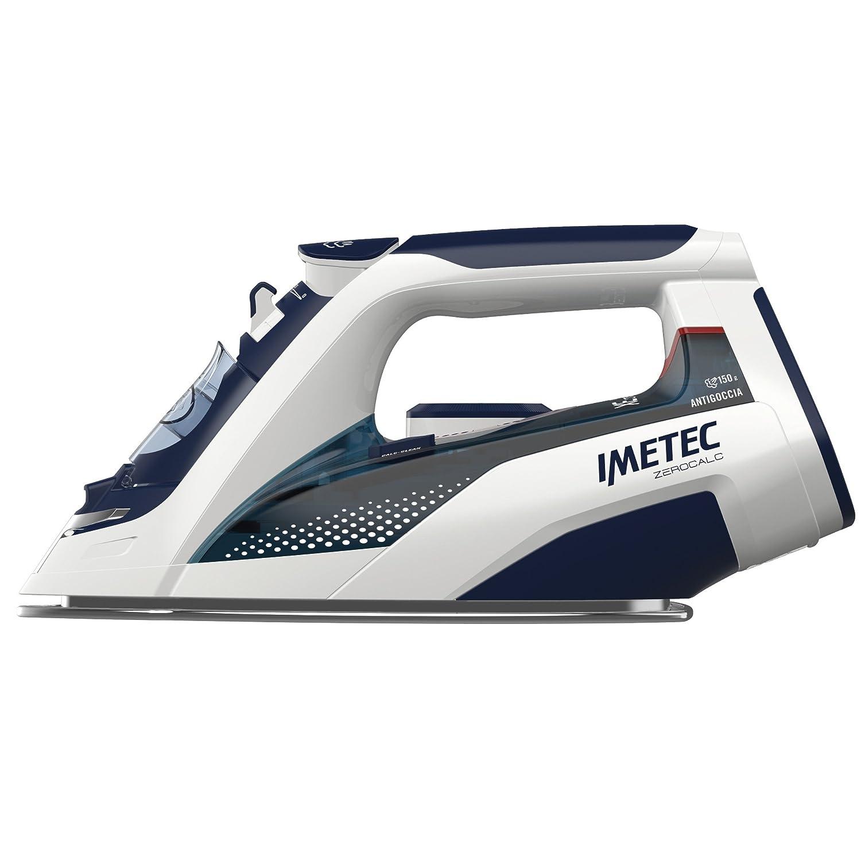 Imetec ZeroCalc Ferro da Stiro Z3 3500, Tecnologia Anticalcare, Piastra Inox 2400W, Colpo Vapore 150 g, Tecnologia a Risparmio Energetico 9246
