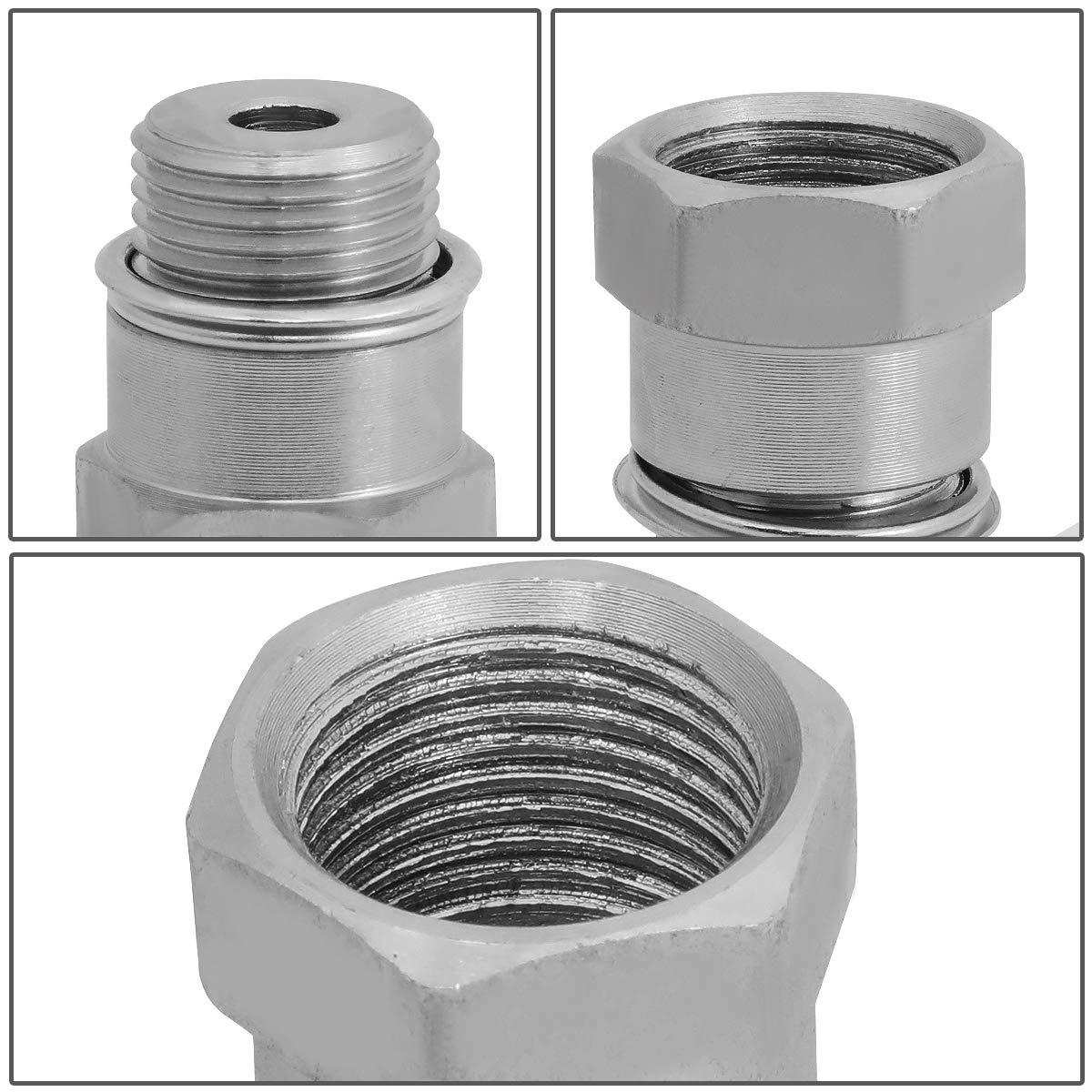 Stainless Steel O2 Sensor Adapter Isolator Universal Pack of 2