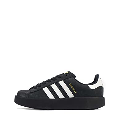 adidas superstar bold black