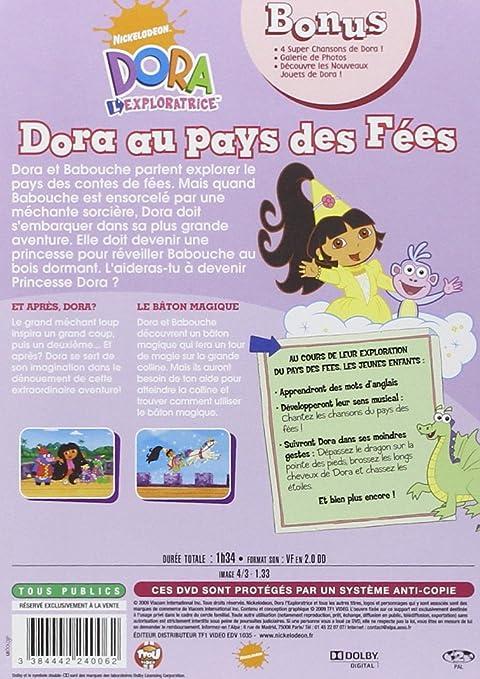 Dora au pays des fées ; chassez les étoiles: Amazon.co.uk: DVD & Blu-ray