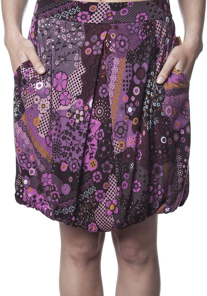 MAMATAYOE - Falda - para mujer multicolor Color De Rosa-S: Amazon ...