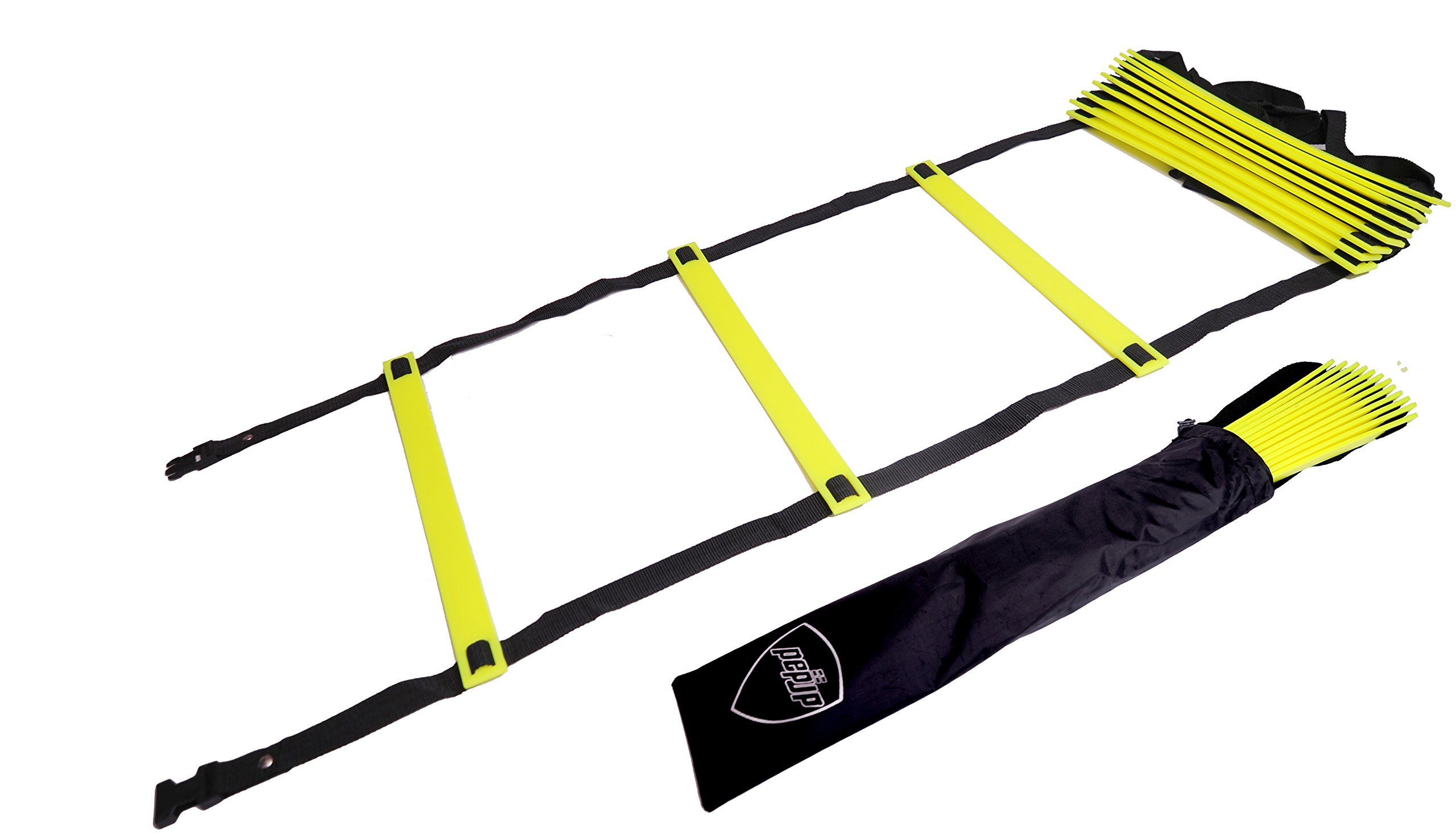 Pepup Sports Super Flat Adjustable Speed Agility Ladder (6M With 12 Rungs) product image