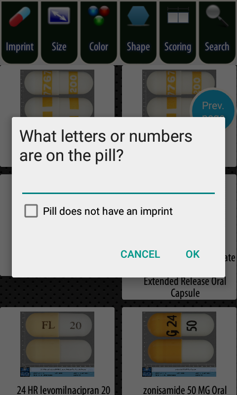 Pill Identifier