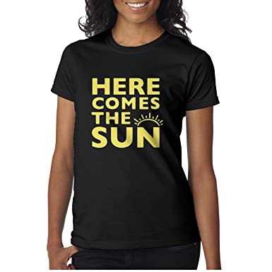 d4d1ede02f29 Amazon.com  City Farmer Women Here Comes The Sun Short Sleeve T ...