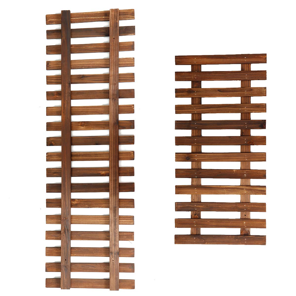 MASUNN Planta Flor Soporte para colgar Cesta colgante Maceta Escalera de madera Escalera artesanal - 60Cm: Amazon.es: Industria, empresas y ciencia