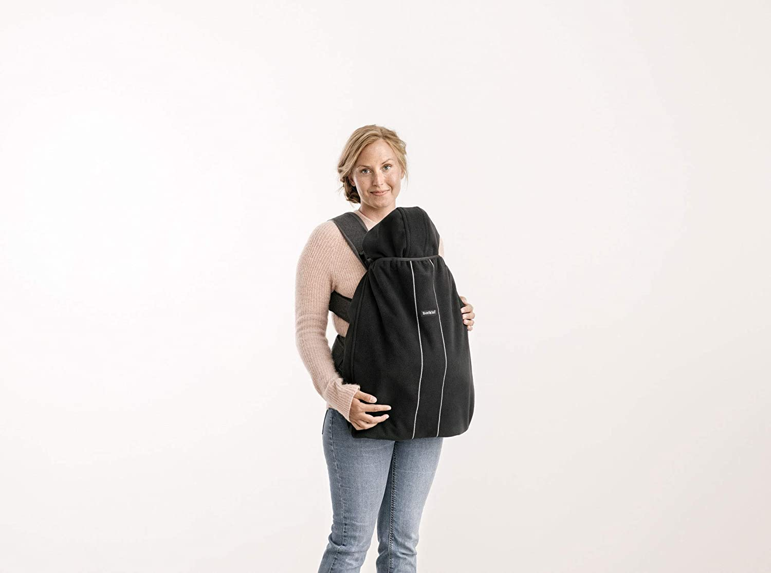 BABYBJ/ÖRN Windproof Cover for Baby Carriers Black