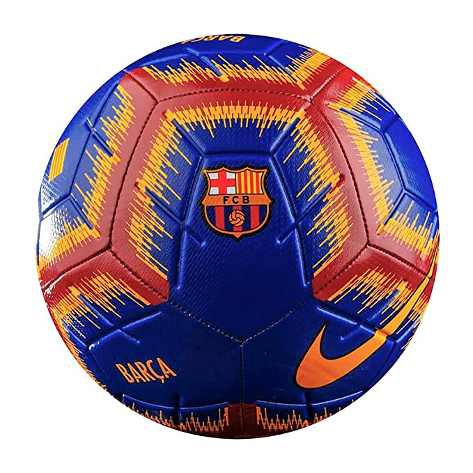 NIKE Barcelona Strike Soccer Ball 2018/2019: Amazon.es: Deportes y ...