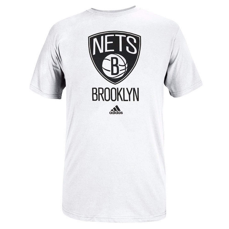 Amazon.com: adidas NBA Brooklyn Nets Primary Logo - Camiseta ...
