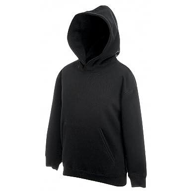 9c6b2e0bc Fruit of the Loom Childrens Unisex Hooded Sweatshirt/Hoodie (12-13) (