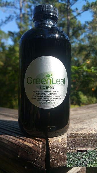 (Spoken of by Dr  Sebi) Bio Iron Tonic/Herbal Iron- 8oz Liquid