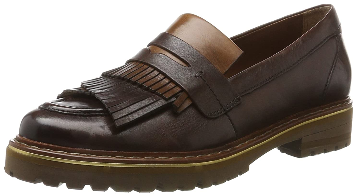 Be Natural Damen Slipper 24703 Slipper Damen Braun (Cafe) c698cf