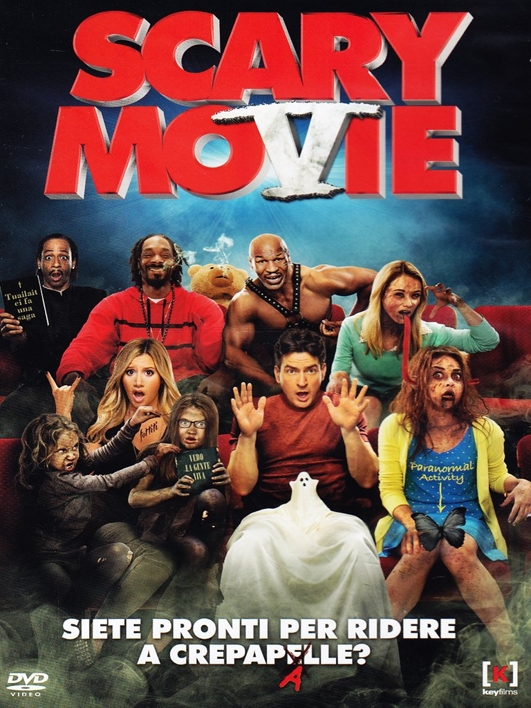 Amazon Com Scary Movie 5 Dvd Italian Import Charlie Sheen Heather Locklear Malcolm Lee Movies Tv