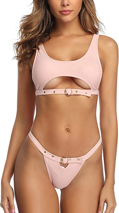 Amazon Com Sherrylo High Neck Bikini Brazilian Bikinis Sexy