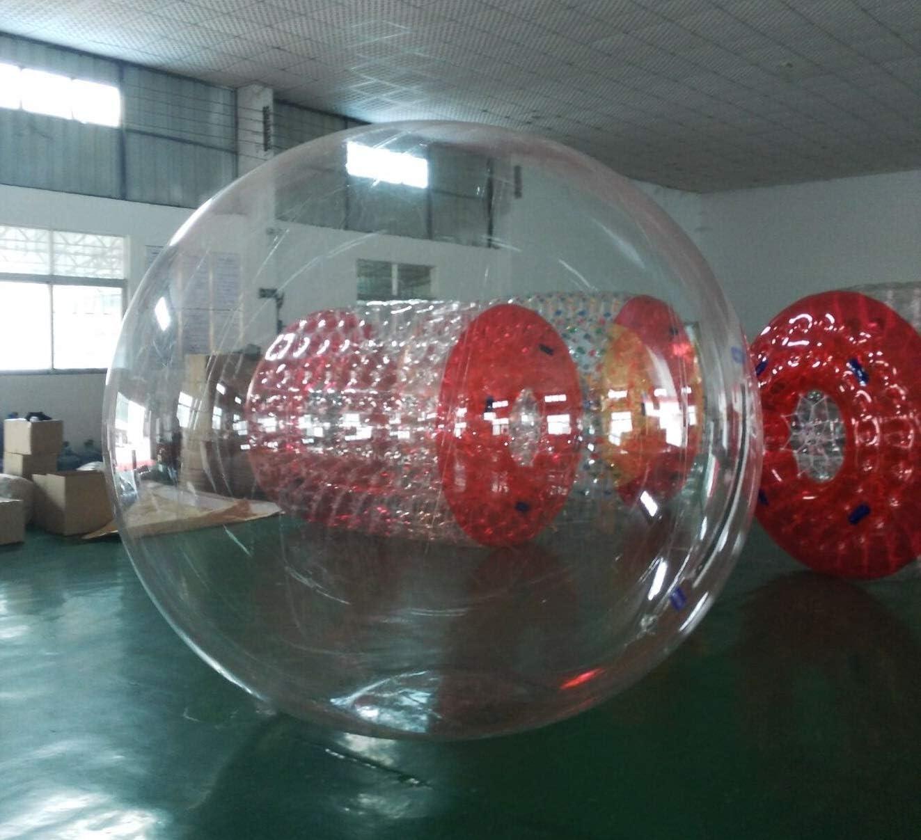 Water Ball 3 Metros PVC Super Resistentes- Esfera acuática Agua - Hinchable acuatico - Water Zorb Ball (Material PVC)