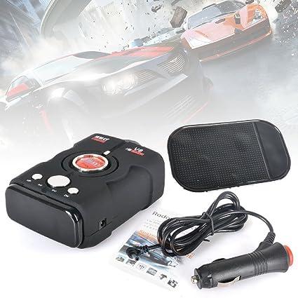 Reelva detector de coche V8 anti radar detector de alarma de coche vehículo Radar de velocidad