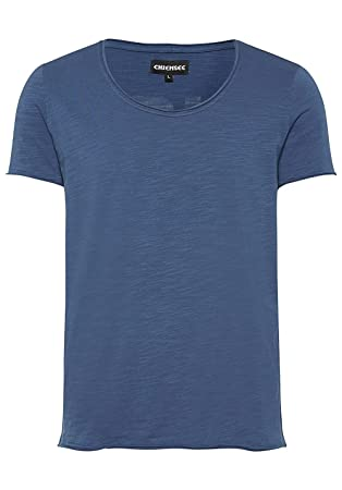 Chiemsee Hombre Vintage de Style con Espalda Print–Camiseta, Hombre, T-Shirt, Vintage-Style mit Rückenprint, 975 Iron Gate,…