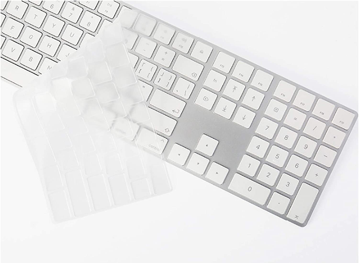 US Version TPU Clear Keyboard Cover Skin for iMac G6 A1243 Wired Keyboard with A Numeric Ultra Thin Protector Cover,TPU