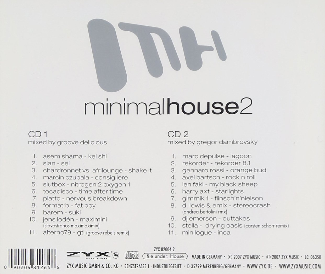 Minimal House 2: Various Artists: Amazon.es: Música
