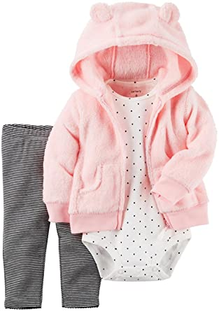 Carter's Baby Girls Cardigan Sets 121g778, Pink, 3M
