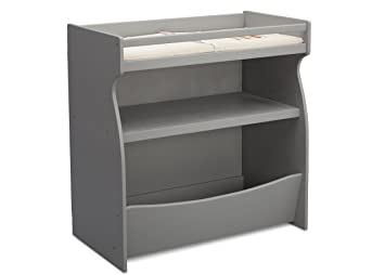 Brilliant Delta Children 2 In 1 Changing Table And Storage Unit Grey Download Free Architecture Designs Embacsunscenecom