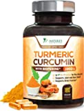Turmeric Curcumin Highest Potency 95% Standardized Curcuminoids 1950mg with Bioperine for Best Absorption, Made in USA…