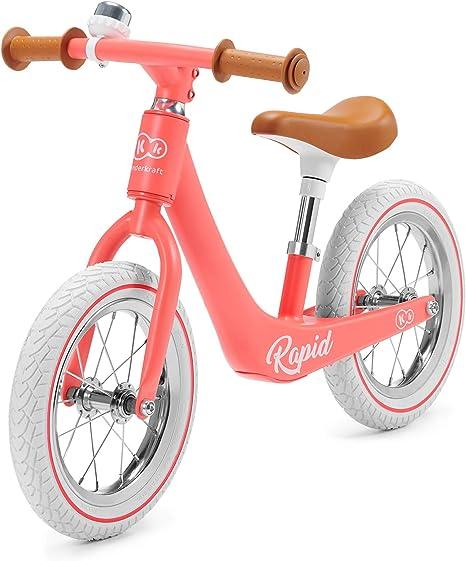 Kinderkraft Bicicleta sin Pedales RAPID, Sólida, Segura, Ajustable ...