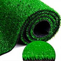 Medida 2,00 x 1,00m - Grama Sintética SoftGrass 12mm - Verde