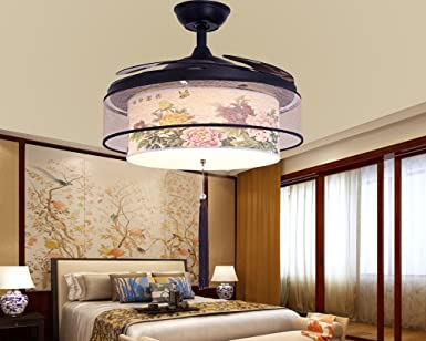 Sdkky La Nouvelle Chinois Restaurant Salle à Manger, Schlafzimmer  Deckenventilator Lampe, Fan U2013 Lampe
