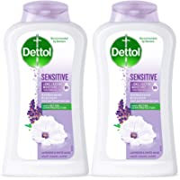 Dettol Sensitive Anti-bacterial Body Wash 250ml Twin Pack @35% OFF