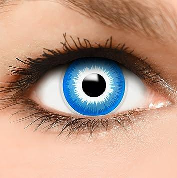 Farbige Kontaktlinsen Elf In Blau Behalter Top Linsenfinder