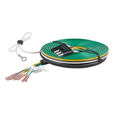 CURT 58923 Custom Towed-Vehicle RV Wiring Harness for Dinghy Towing Select Chevrolet Silverado 1500, GMC Sierra 1500: Automotive