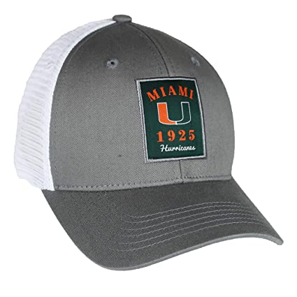 size 40 01dfe 16950 Image Unavailable. Image not available for. Color  Top of the World Miami  Hurricanes Official NCAA Adjustable Ranger 26 Hat ...