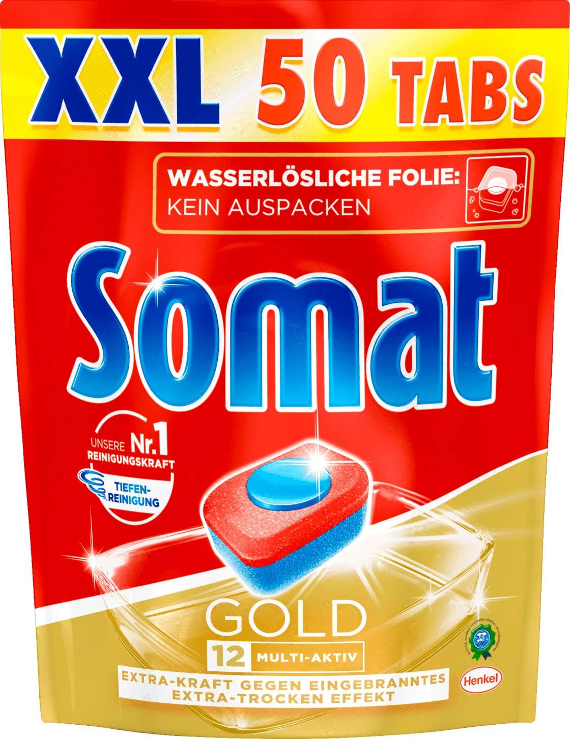 Amazon.com: Somat - Tabletas para lavavajillas (12 doradas ...