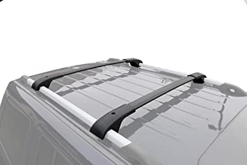 Amazon Com Brightlines Roof Rack Crossbars Compatible With 2007 2017 Jeep Patriot Automotive