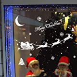 Vovotrade® 2015 Christmas Hot Sale !!!Christmas Decoration Decal Window Stickers Home Decor