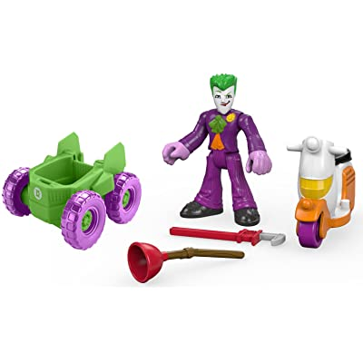 Fisher-Price Imaginext DC Super Friends The Joker Deluxe Gift Set: Toys & Games