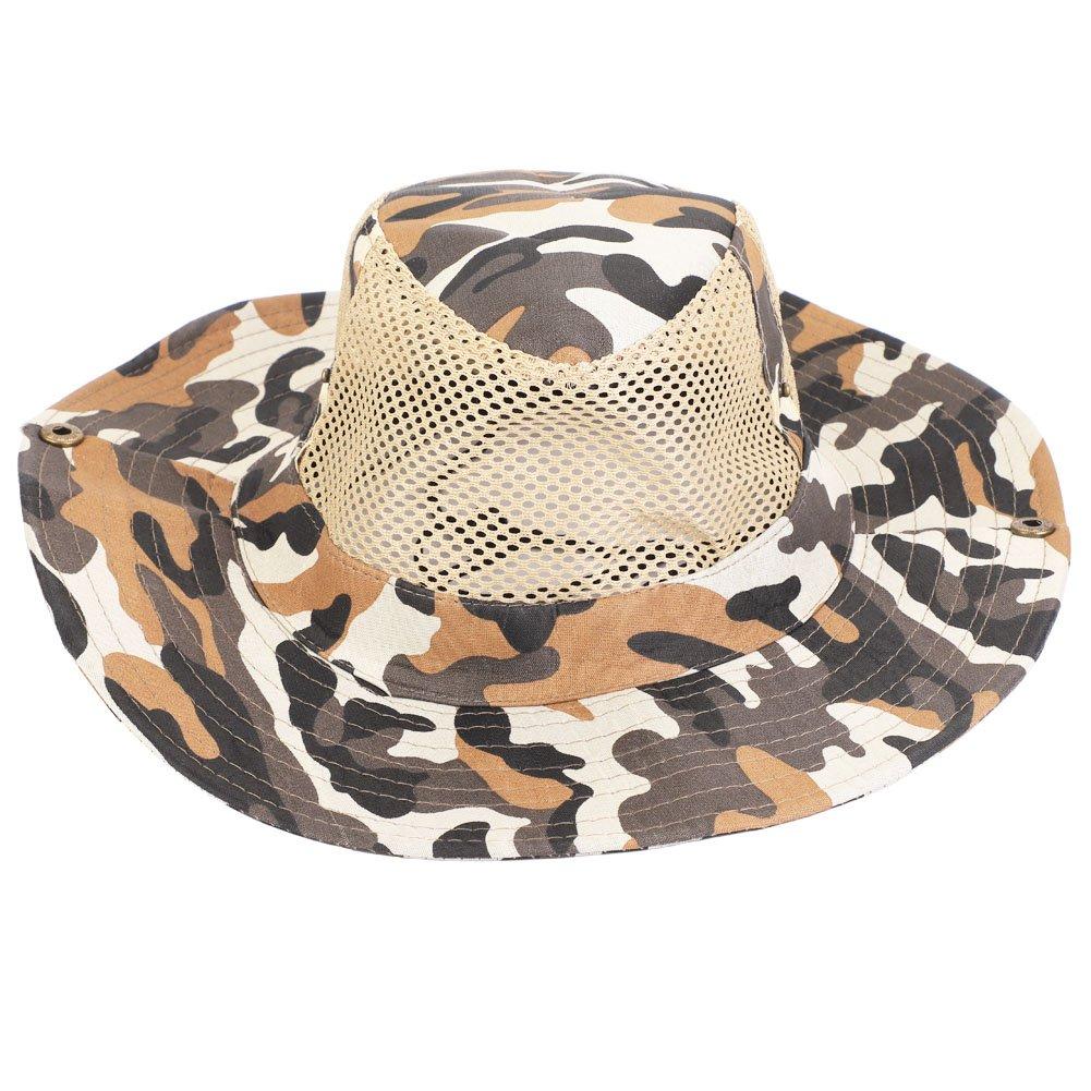 Tbest Gorro de Pescador Sombrero de Pesca Hombre Mujer Unisex ...