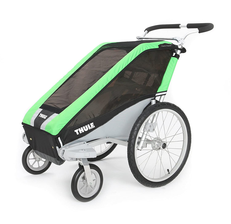Amazon Thule Cheetah Single Stroller Green Child Carrier Bike Trailers Sports & Outdoors