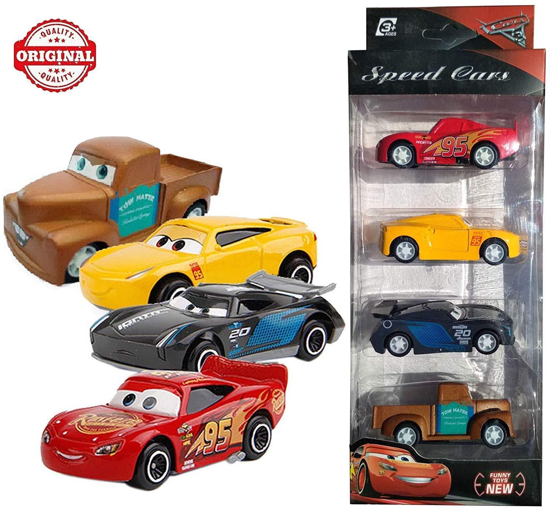 Buy Pluspoint Cars3 Die Cast Metal Mcqueen Cruiz Ramirez Jackson