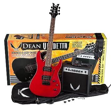 Dean Guitars Vendetta guitarra y amplificador), color,: Amazon.es: Instrumentos musicales