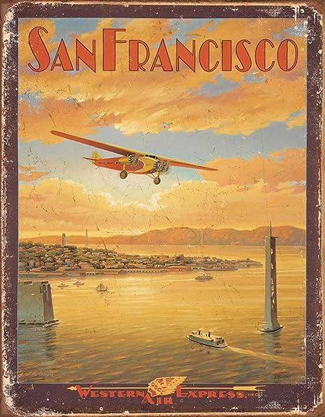 Tin Sign Travel Kitchen San Francisco