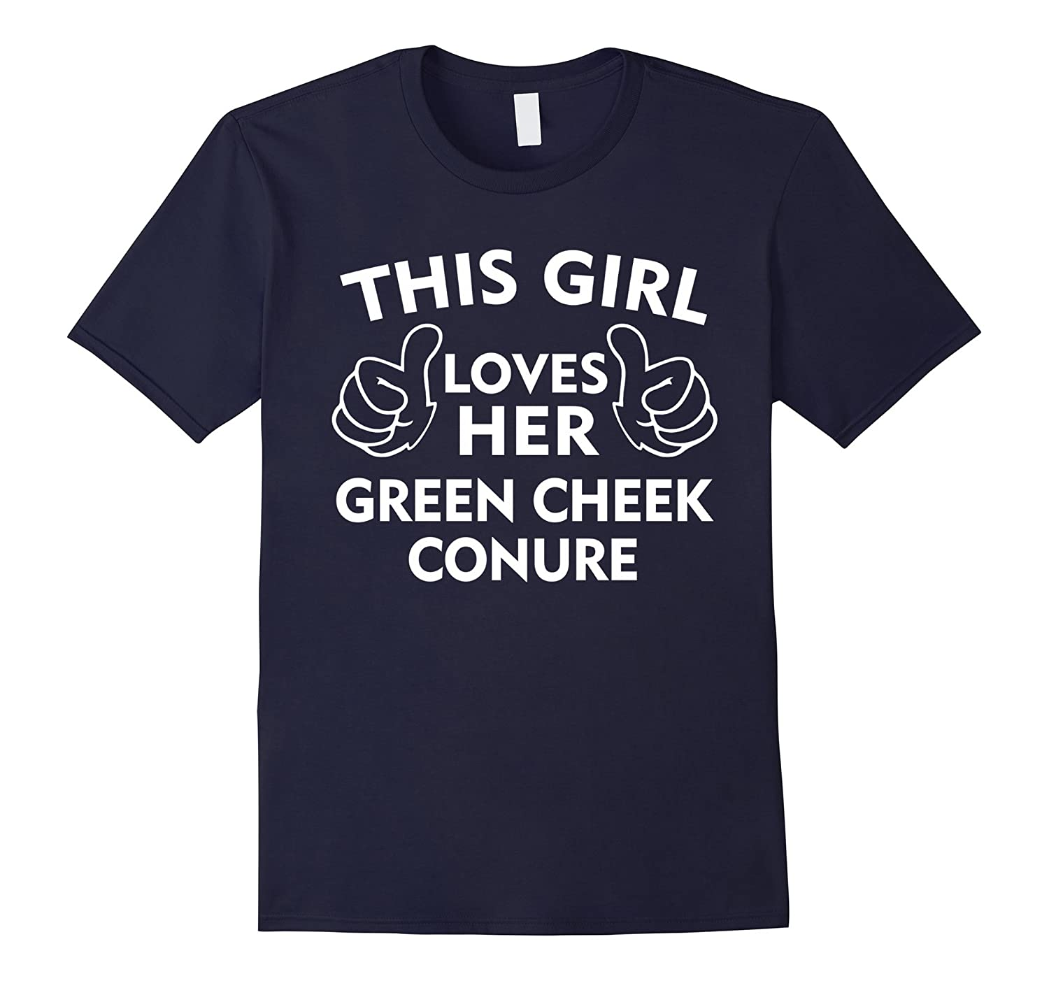 This Girl Loves Her Green Cheek Conure T-Shirt-Vaci