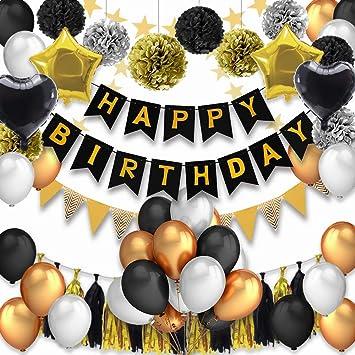 53 Pcs Decoraciones Cumpleaños, Decoraciones de la fiesta de ...
