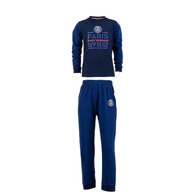 Paris Saint Germain PSG - Pijama oficial para niño., Niño, azul, 8 años: Amazon.es: Deportes y aire libre