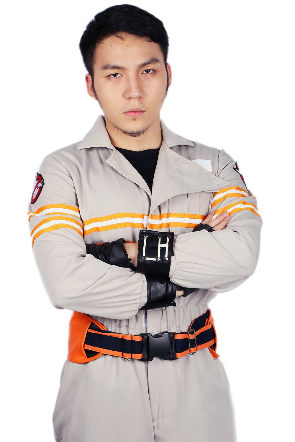 Ghostbusters Costume Deluxe Jumpsuit Embroidery Logo Cotton Halloween Cosplay Xcoser M by xcoser (Image #5)