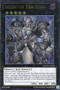 Inzektor Exa-Stag GAOV-EN050 Unlimited New Galactic Ultimate Rare