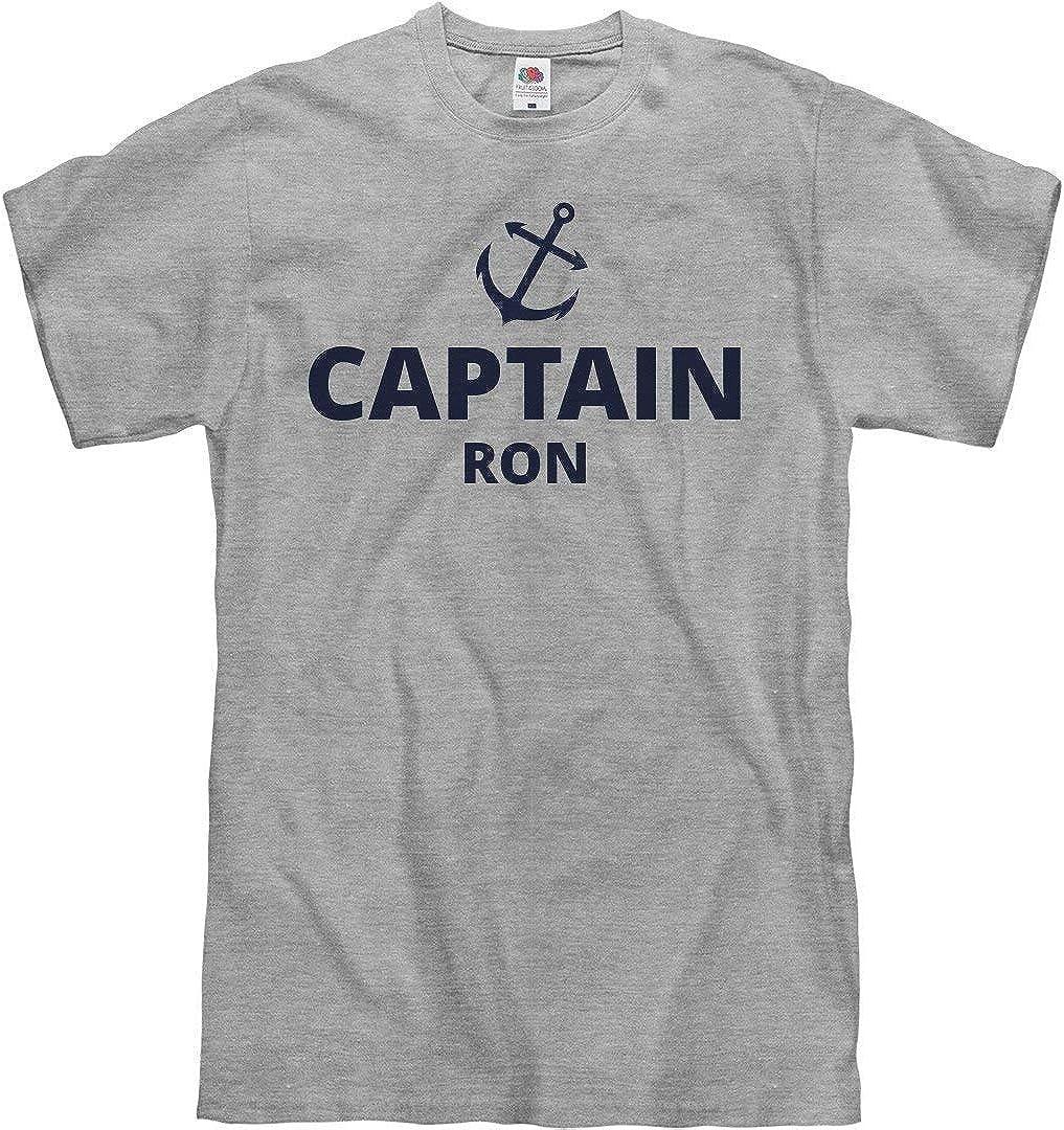 Hasowell Captain Ron tee: Camiseta Unisex - Gris - Medium ...