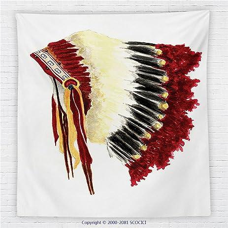 Amazon 59 X 59 Inches Native American Decor Fleece Throw